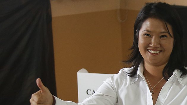 Keiko Fujimori saludó la proclamación de Kuczynski como presidente de la República
