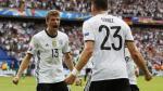 Alemania vs. Eslovaquia chocan por los octavos de final Eurocopa 2016. (AFP)