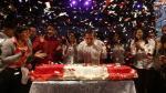 Ollanta Humala celebró, al ritmo de un huayno, su último cumpleaños en el poder. (Renzo Salazar)