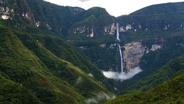 Rescatistas encontraron cuerpo de turista surcoreano que cayó a las cataratas de Gocta. (Gocta Andes Lodge)