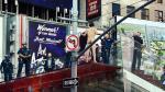 Estados Unidos: Hombre desnudo que exigía reunión con Donald Trump saltó desde escalera de Times Square - Noticias de centro psiquiátrico