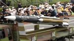 El Hsiung-feng III es un misil antibuque con un alcance de 300 kilómetros