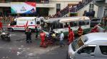 Mayoría de siniestros ocurren en 8 distritos, según Consejo Nacional de Seguridad Vial - Noticias de accidente vial panamericana norte