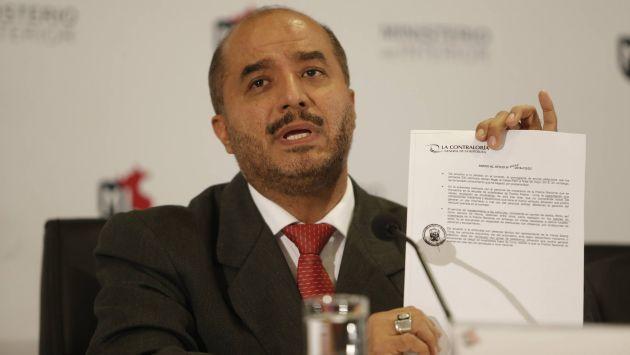 P rez guadalupe observaciones sobre patrulleros no for Declaraciones del ministro del interior