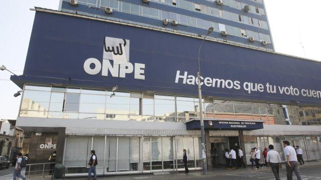 ONPE cruza datos de principales aportantes de campañas a fin de detectar inconsistencias