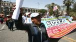 Arequipa: Profesores harán marcha de protesta en el Día del Maestro - Noticias de jose luis bustamante