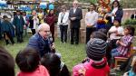 Pedro Cateriano imitó al Pato Donald e hizo reír a niños de una aldea infantil de Cieneguilla [Video] - Noticias de disney