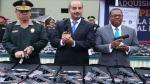 Gobierno entregó más de 31,500 armas de fuego a la Policía Nacional para  combatir la inseguridad - Noticias de armamento