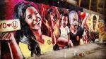 Universitario de Deportes: Hinchas protestan por mural con Rocío Miranda - Noticias de rocio miranda