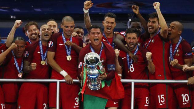 Portugal venció 1-0 a Francia y es el nuevo campeón de la Eurocopa 2016. (Reuters)