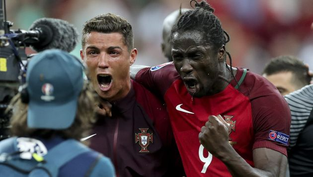 """Éder: """"Cristiano Ronaldo me dijo que iba a marcar el gol de la victoria"""". (EFE)"""