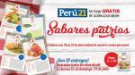 Perú21 te trae el nuevo coleccionable: 'Sabores patrios. Recetas para celebrar el 28 de julio' [Video] - Noticias de huacachina