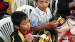 Más de 500 niños de 8 regiones del país celebraron por adelantado el Día del pollo a la Brasa - Noticias de los cabitos