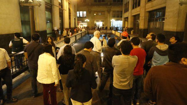Fuerte temblor se registró esta noche en Lima. (Perú21)