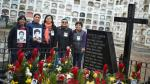 La Cantuta: Familiares rindieron homenaje a sus víctimas [Fotos] - Noticias de martha maria