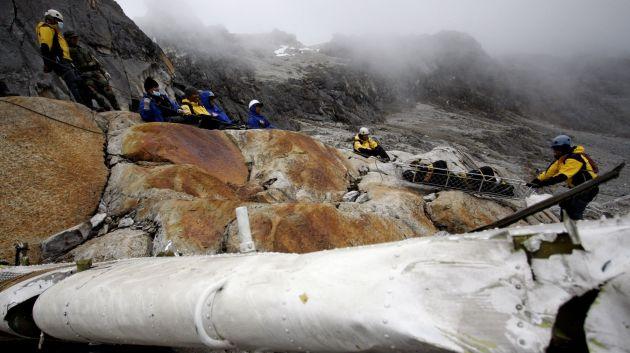 Búsqueda de otros cuatro montañistas continúa. (Andina)