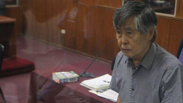 Alberto Fujimori presentó pedido de indulto ante el Ministerio de Justicia. (Perú21)