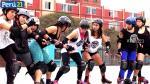Roller Derby: Conoce este deporte de contacto femenino en patines. (Alan Chozo/Perú21)