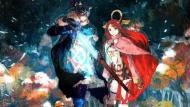 Setsuna y Endir. Ambos personajes vivirán una mágica aventura.