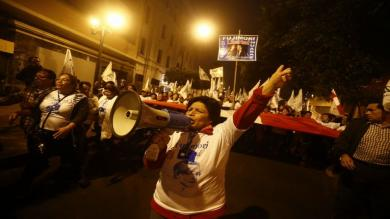 Alberto Fujimori: Seguidores marcharon para pedir el indulto del expresidente