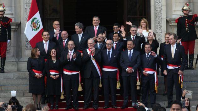 PPK tomó juramento a los 19 integrantes de su Gabinete Ministerial. (Consejo de Ministros)