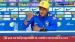 Neymar fue cuestionado sobre su vida privada. (Captura)