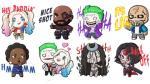 'Suicide Squad': Facebook lanzó colección de stickers de los antihéroes. (Facebook)
