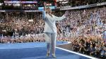 Hillary Clinton aceptó nominación demócrata. (Reuters)