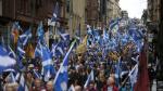 Escocia sigue inconforme con el Brexit y miles reclaman independizarse del Reino Unido - Noticias de nicola pocella
