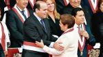 Fernando Zavala y Luz Salgado se reunirán este martes en el Congreso. (El Comercio)