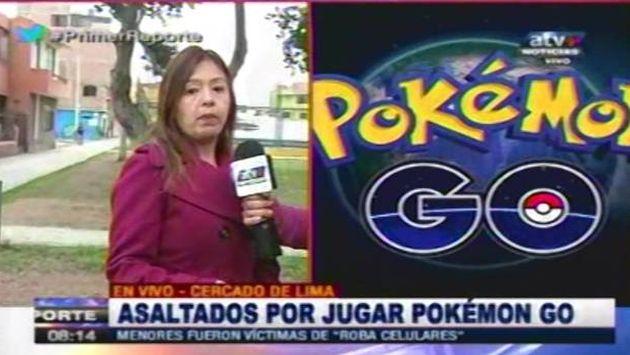 Pokémon GO: Roban celulares a dos menores de edad en Cercado de Lima. (ATV  )