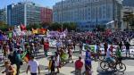 Río 2016: Miles de personas protestan a poco del inicio de los Juegos Olímpicos [Fotos] - Noticias de viernes negro