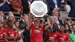 Manchester United venció 2-1 al Leicester city y conquistó la Community Shield [Fotos y video] - Noticias de zlatan ibrahimovic