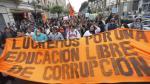Universidad Federico Villarreal: Estudiantes se enfrentaron a la Policía en su intento de llegar al Ministerio Público [Video] - Noticias de federico villareal