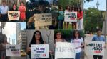 Así se organizan para marchar contra la violencia de género en Canadá - Noticias de maria isabel casas