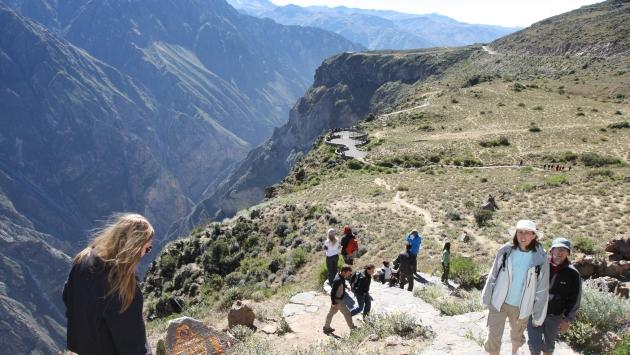 El sismo de mayor magnitud no causó daños a la ciudad de Arequipa.  (Perú21)