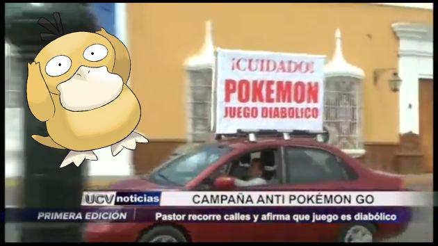 Pastor evangélico sostiene que la palabra 'Pokémon GO' siginifica 'monstruo de bolsillo'. (UCV Satelital/Composición)