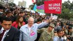 Ni Una Menos: Hoy el Perú le dice no a la violencia contra la mujer [EN VIVO] - Noticias de marisol vega