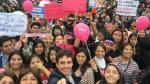 Ni Una Menos: Personajes de la farándula se sumaron a marcha contra la violencia a la mujer - Noticias de erika villalobos
