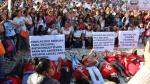 Ni Una Menos: Las regiones se pusieron de pie para rechazar la violencia contra la mujer - Noticias de chepen