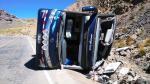 Ayacucho: Accidente de bus interprovincial dejó 6 muertos y 41 heridos [Fotos y video] - Noticias de accidente de bus