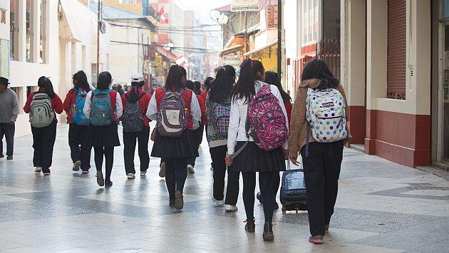 El 70.1% de estudiantes *LGBT* se siente inseguro en su escuela debido a su orientación sexual. (USI)
