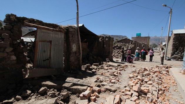 Arequipa: Además de los cuatro fallecidos y 67 heridos. (Reuters)