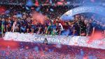 Barcelona goleó 3-0 a Sevilla con tanto de Messi y se coronó campeón de la Supercopa de España [Fotos] - Noticias de supercopa de españa