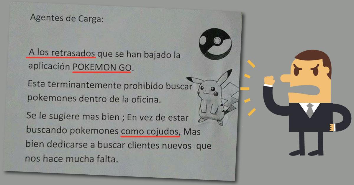 Esta es la verdad del jefe que insultó a sus empleados por jugar Pokémon Go en el Callao. (Composición)