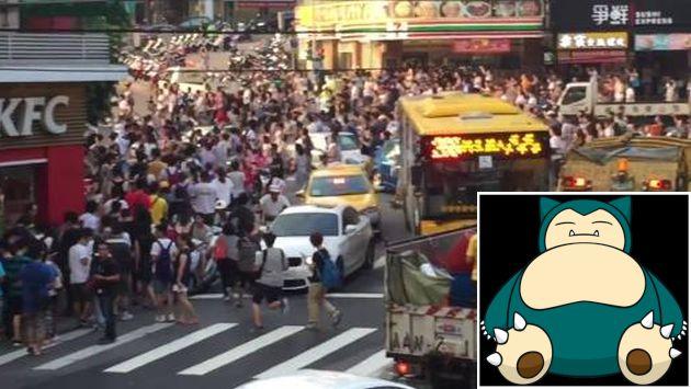 Pokémon Go vuelve a generar caos en la ciudad. (maggiejoypig)
