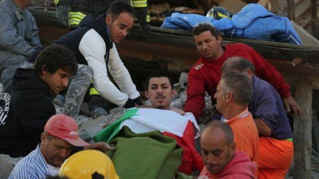 Consulado pide ayuda para identificar a peruano rescatado de los escombros tras terremoto en Italia. (Facebook Consulado del Perú en Roma)
