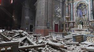 Sube a 241 la cifra de muertos tras terremoto de 6.2 grados en Italia