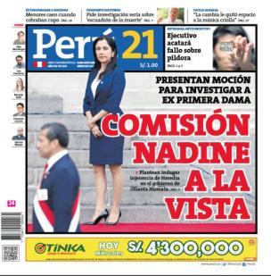 Comisión Nadine a la vista
