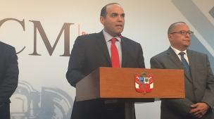 Fernando Zavala da por zanjada la controversia del ministro Alfredo Thorne